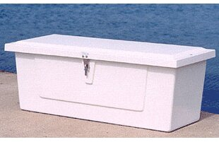 18 H x 48 W x 20 D Plastic Deck Box by Better Way Products