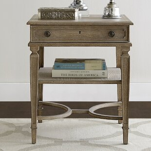 Stanley Furniture Wethersfield Estate End Table with Storage
