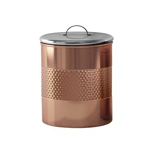Hammered Kitchen Canister