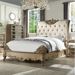 Rosdorf Park Linzy Upholstered Panel Bed