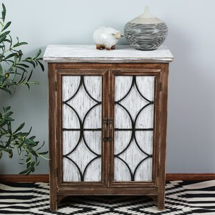 Seaver Decorative Wood 1 Door Accent Cabinet by World Menagerie
