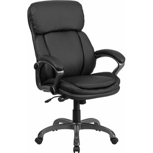 Online Reviews Mccrea High-Back Ergonomic Executive Chair By Latitude Run