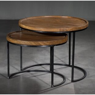 Brunswick 2 Piece Nesting Tables by Williston Forge