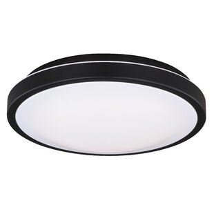 Wrought Studio Gallucci Round 1-Light LED Flush Mount