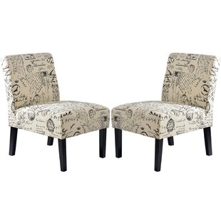 Leidesdorff 225 Slipper Chair Set of 2