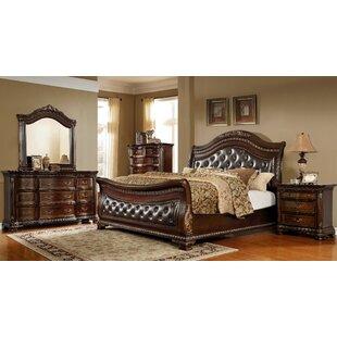 Prange Sleigh 4 Piece Bedroom Set by Astoria Grand Wonderful