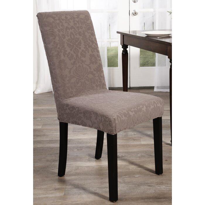 Amazing Stretch Floral Box Cushion Dining Chair Slipcover Uwap Interior Chair Design Uwaporg