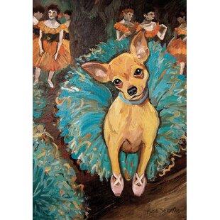 Dogas Chihuahua Garden Flag