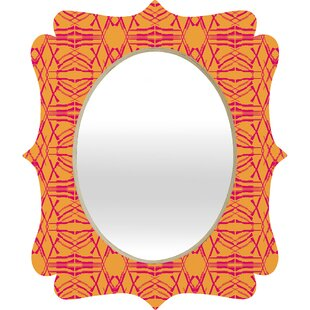 Deny Designs Pattern State Shotgirl Tang Quatrefoil Accent Mirror
