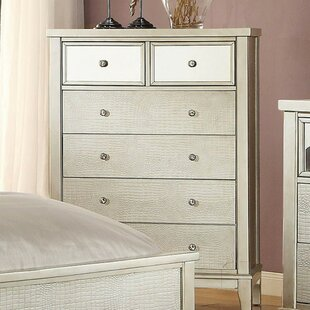 Rosdorf Park Lopp Wooden 6 Drawer Chest Image