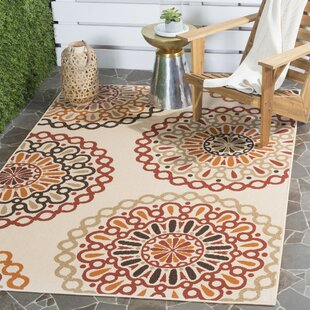 Tierney Beige Indoor/Outdoor Area Rug