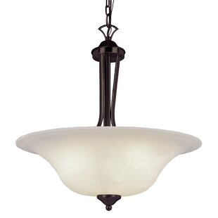 Newent 3-Light Bowl Pendant by Charlton Home