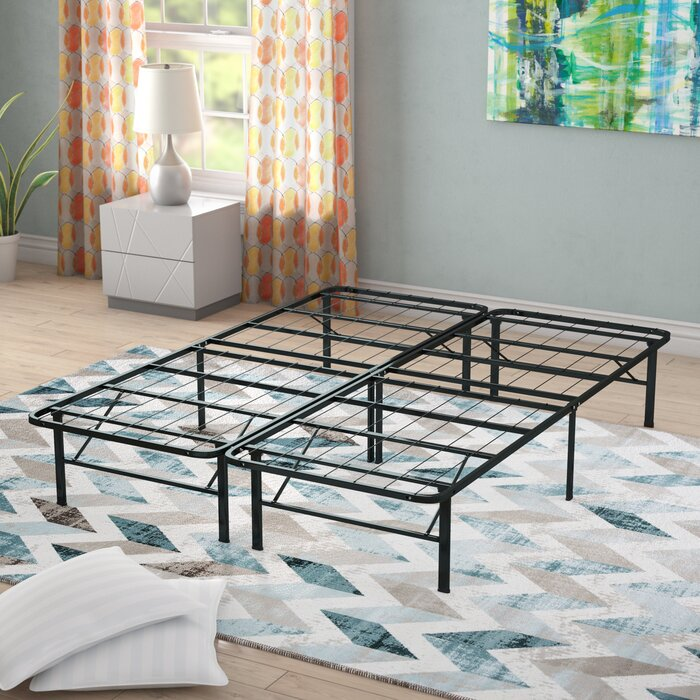 size 40 a5072 be71d Gabriele Platform Heavy Duty Metal Bed Frame