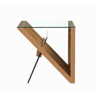 Savings Weatherwax End Table by Orren Ellis