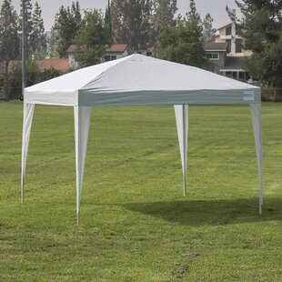 10 Ft. W x 10 Ft. D Steel Pop-Up Canopy by Belleze