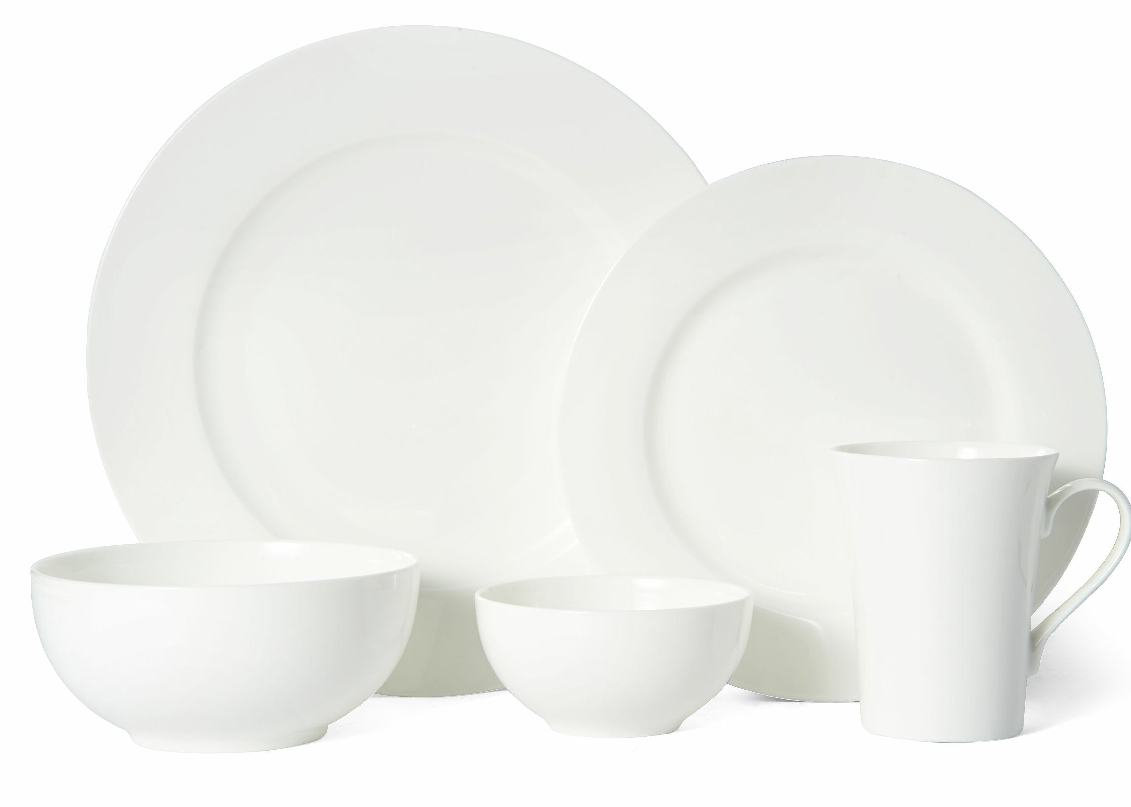Mikasa Delray 40 Piece Bone China Dinnerware Set Service For 8 Reviews