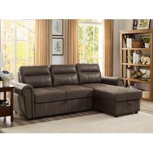 Price Check Ty Reversible Sleeper Sectional by Wrought Studio Reviews (2019) & Buyer's Guide