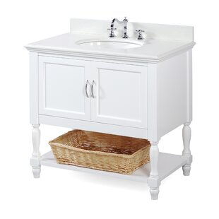 Beverly 36 Single Bathroom Vanity Set by Kitchen Bath Collection