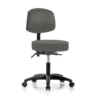 Height Adjustable Doctor Stool by Perch Chairs & Stools