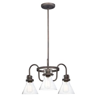 Williston Forge Haefner Single Tier 3-Light Chandelier