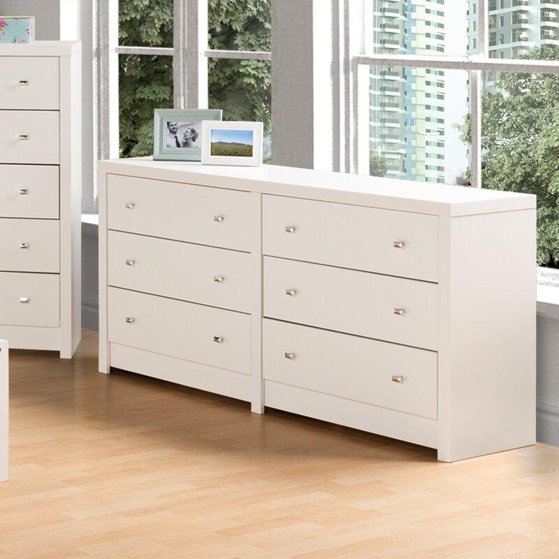 Tidworth 6 Drawer Double Dresser