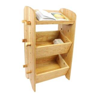 Turner Unique Adjustable with 2 Crates 32 Bookshelf by Rosalind Wheeler