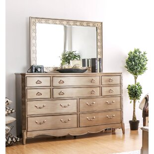 Willa Arlo Interiors Gisella 10 Drawer Double Dresser