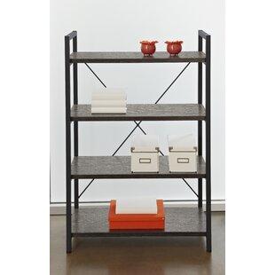 Mathieson 4 Shelf Standard Bookcase by Gracie Oaks