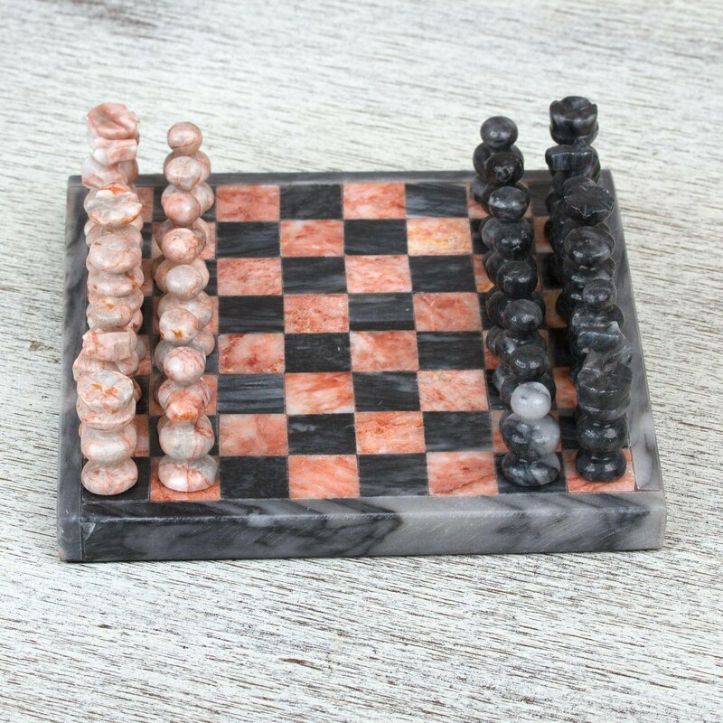 Bloomsbury Market Collbran Challenge Marble Chess Wayfair