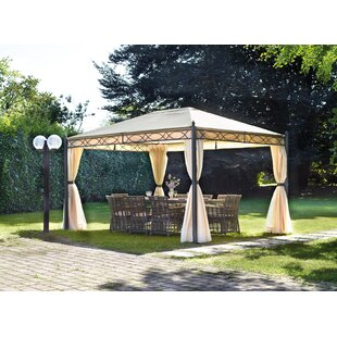 Natoli 4m X 3m Metal Patio Gazebo By Sol 72 Outdoor