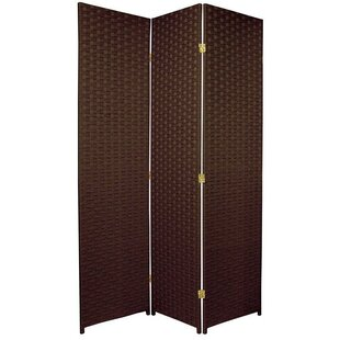 70.75 x 52.5 3 Panel Room Divider by Oriental Furniture