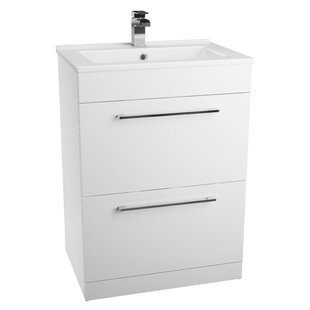 Lewes 60cm Free-Standing Vanity Unit Base Only By Ebern Designs