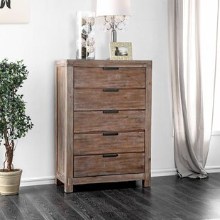 Benally 5 Drawer Chest by Foundry Select