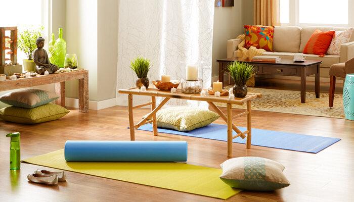 How To Create A Home Yoga Sanctuary Wayfair Co Uk