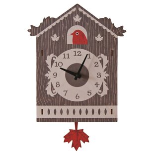 Review Cuckoo Pendulum Wall Clock by Modern Moose