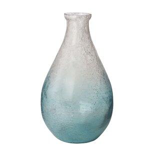 Vandemere Glass Teardrop Table Vase