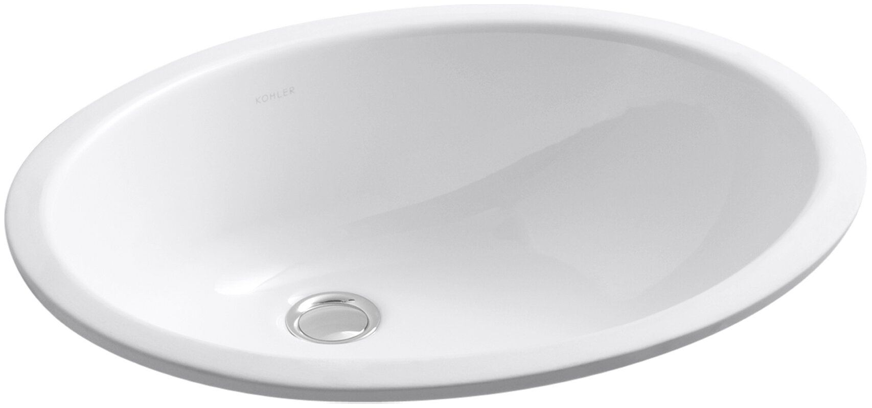 caxton ceramic oval undermount bathroom sink with overflow - Undermount Bathroom Sink Oval
