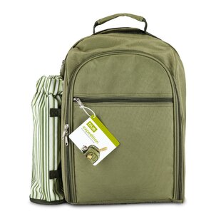 Expedition™ Insulated Picnic Backpack, Service for 4