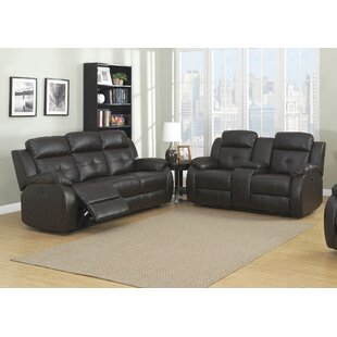 Troy Reclining 2 Piece Living Room Set AC Pacific