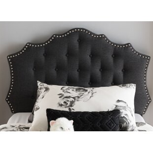 Houghton Upholstered Panel Headboard by Charlton Home