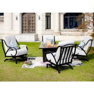 Beiler 5 Piece Multiple Chairs Seating Group With Cushions by Darby Home Co Read Reviews