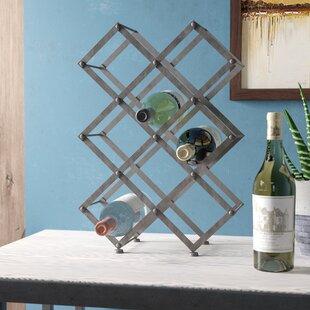 Elmhurst 9 Bottle Floor Mounted Wine Rack..