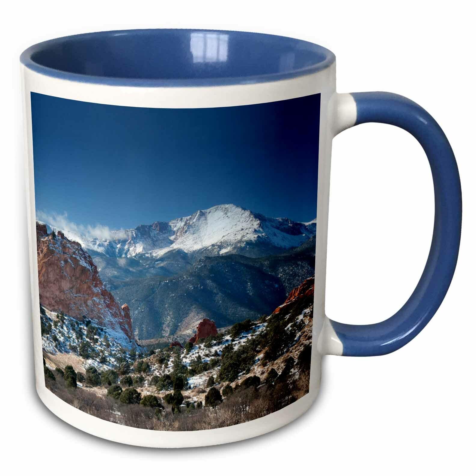 East Urban Home Colorado Mountains Pikes Peak Coffee Mug Wayfair