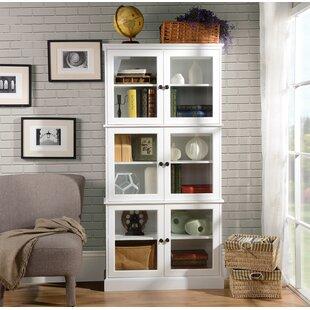 Short Glass Display Cabinet | Wayfair