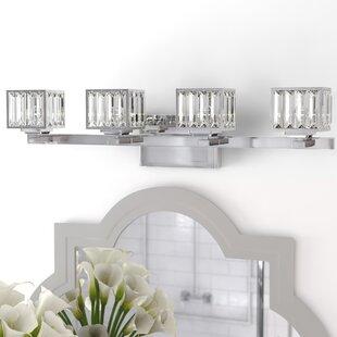 Westerleigh 4-Light Vanity Light by Willa Arlo Interiors