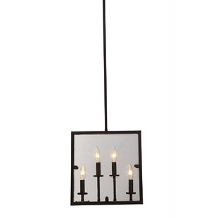 Harbor Point 4-Light Square/Rectangle Pendant by Artcraft Lighting