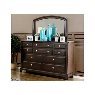 Harvell 10 Drawer Double Dresser by Red Barrel Studio