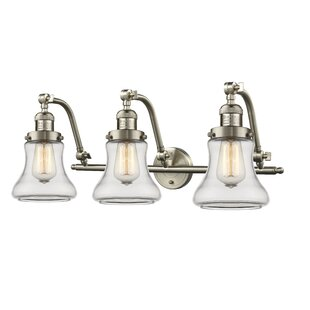 Check Prices Nardone 3-Light Vanity Light By Beachcrest Home