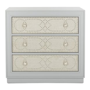 Ahumada 3 Drawer Accent Chest