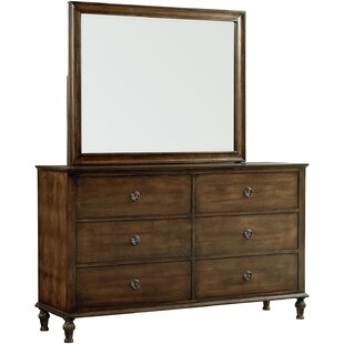 Greyleigh Cathryn 6 Drawer Double Dresser